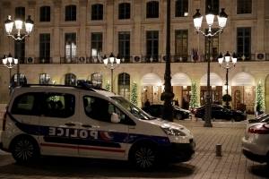 Jewels worth millions stolen in Paris Ritz armed robbery: police