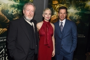 Ridley Scott reportedly furious over Mark Wahlberg/Michelle Williams pay discrepancy