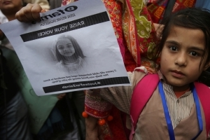 Second day of protests in Pakistani child murder case