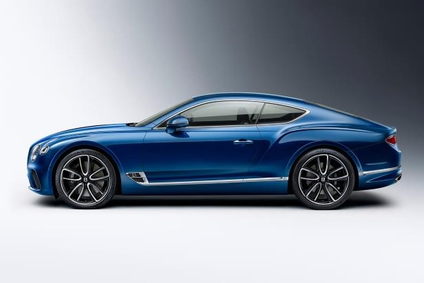 Slide 22 of 36: 2019-Bentley-Continental-GT-side-profile-02.jpg