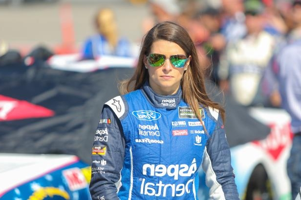 Slide 4 of 76: FORT WORTH, TX - NOVEMBER 05: Monster Energy NASCAR Cup Series driver Danica Patrick (10) on pit road prior to the AAA Texas 500 on November 5, 2017 at Texas Motor Speedway in Fort Worth, Texas. (Photo by George Walker/Icon Sportswire via Getty Images)