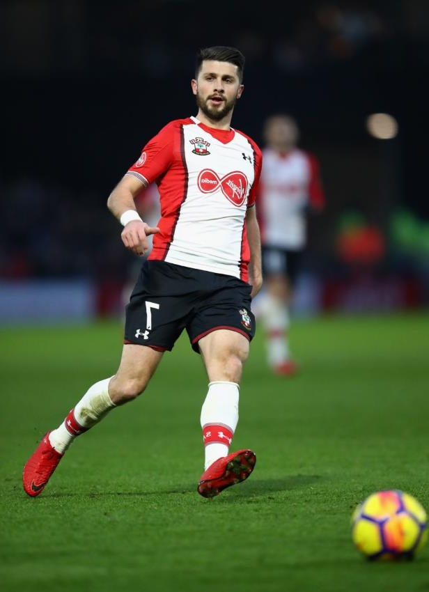 Shane Long with a football ball on a field: Julian Finney/Getty Images Sport