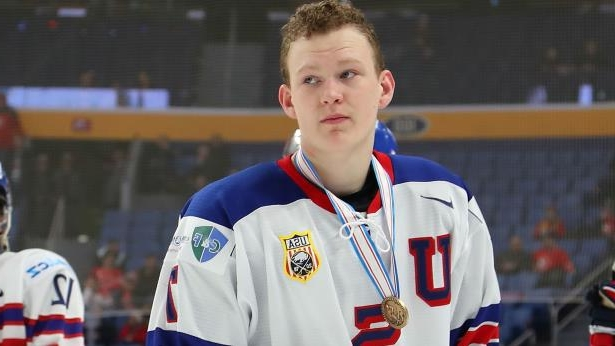 9cf29e237 Sport  NHL Draft 2018  Brady Tkachuk  right there  as possible top ...