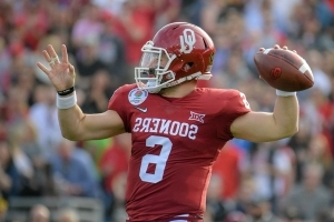 Oklahoma QB Mayfield wins Manning Award