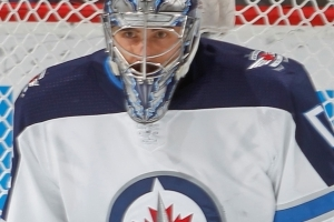 Hellebuyck with shutout as Jets beat Canucks