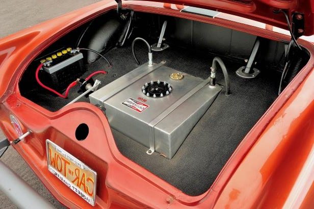 Slide 16 of 31: 016-jard-1955-ford-thunderbird-gasser-open-trunk.jpg