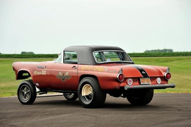 Slide 18 of 31: 018-jard-1955-ford-thunderbird-gasser-rear-three-quarter.jpg