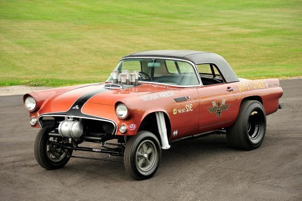 Slide 20 of 31: 001-jard-1955-ford-thunderbird-gasser-front-three-quarter-alt-2.jpg