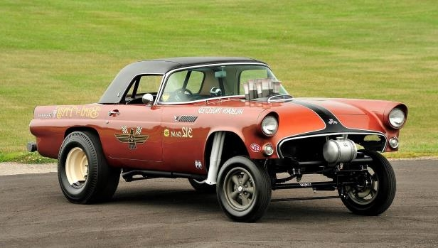 Slide 21 of 31: 001-jard-1955-ford-thunderbird-gasser-front-three-quarter-alt-3.jpg