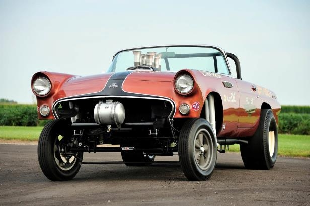 Slide 30 of 31: 026-jard-1955-ford-thunderbird-gasser-front.jpg