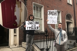 'Up to 10 heavies' forcibly evict tenants from Dublin apartment