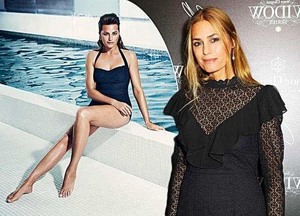 Yasmin Le Bon standing in front of water