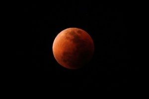 'Super Blue Blood Moon' lights up the sky