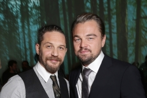 a11c83061 Entertainment: Tom Hardy finally gets Leonardo DiCaprio tattoo after losing  Oscar bet - PressFrom - US