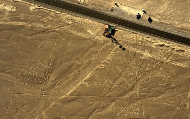 Peru's Ancient Nazca Lines Badly Damaged by Truck