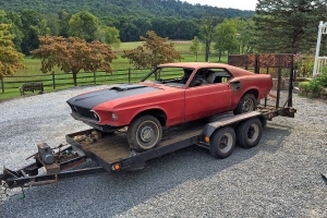 Rare Find: Very First 1969 Ford Mustang Mach 1 Ordered With Super Cobra Jet V-8, Drag Pack & 4.30 Gears