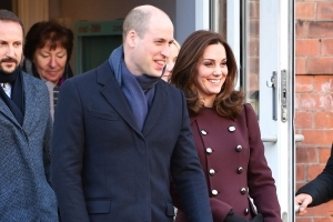 Prince William and Kate Middleton Step Out for Their Last Day in Snow-Covered Norway