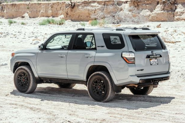 Slide 10 of 87: 2017-Toyota-4Runner-TRD-Pro-rear-three-quarter-03.jpg