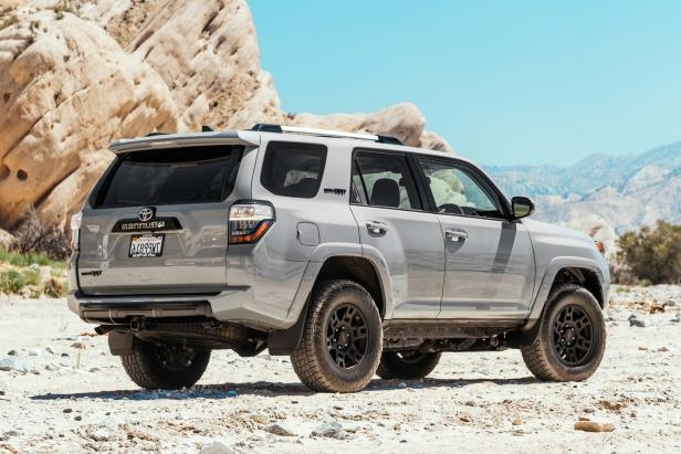 Slide 11 of 87: 2017-Toyota-4Runner-TRD-Pro-rear-three-quarter-02.jpg