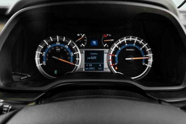 Slide 17 of 87: 2017-Toyota-4Runner-TRD-Pro-instrument-cluster.jpg
