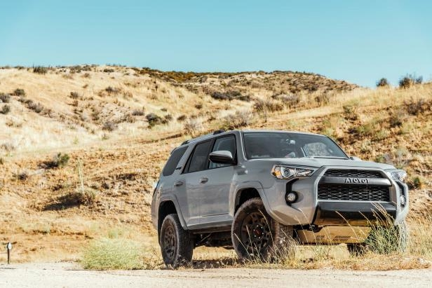 Slide 18 of 87: 2017-Toyota-4Runner-TRD-Pro-front-three-quarters.jpg