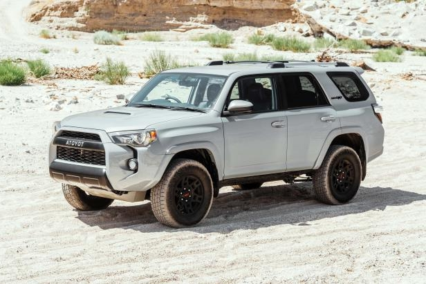 Slide 23 of 87: 2017-Toyota-4Runner-TRD-Pro-front-three-quarter-03.jpg