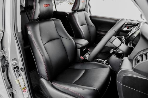 Slide 25 of 87: 2017-Toyota-4Runner-TRD-Pro-front-interior.jpg