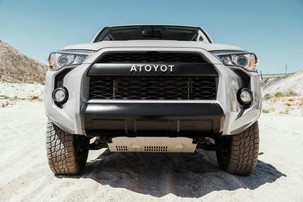 Slide 27 of 87: 2017-Toyota-4Runner-TRD-Pro-front-end.jpg