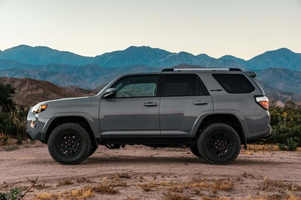 Slide 4 of 87: 2017-Toyota-4Runner-TRD-Pro-side-profile.jpg