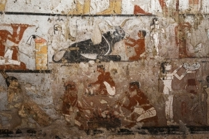Egypt unveils tomb of ancient priestess