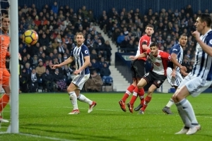 West Brom at rock bottom after home defeat by Southampton