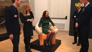 a group of people posing for the camera: According to Kate Middleton There is Ikea Furniture in Kensington Palace