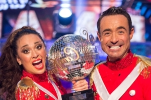 Strictly's Katya Jones re-lives the glory of winning