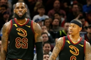 LeBron James is reportedly unhappy with how he and Isaiah Thomas are playing together