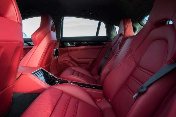 Slide 31 of 93: 2018-Porsche-Panamera-4-E-Hybrid-Interior-Rear.jpg