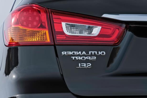 Slide 4 of 20: 2018-Mitsubishi-Outlander-Sport-taillight-02.jpg