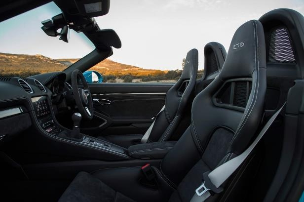 Slide 60 of 104: 2018-Porsche-718-Boxster-GTS-side-view-of-interior.jpg