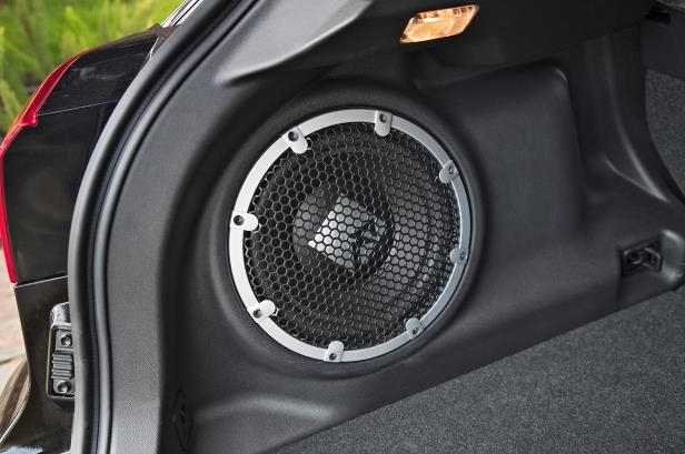 Slide 8 of 20: 2018-Mitsubishi-Outlander-Sport-speaker.jpg