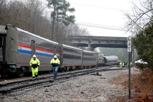 After SC train crash, wife of conductor sues Amtrak, CSX Corp