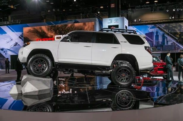Slide 1 of 70: 2019-Toyota-4Runner-TRD-Pro-side.jpg
