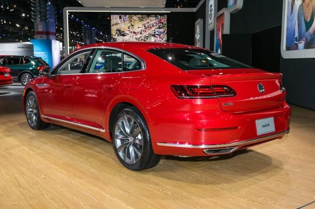 Slide 12 of 70: 2019-Volkswagen-Arteon-rear-side-view-1.jpg