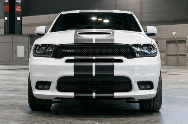 Slide 17 of 70: 2018-Dodge-Durango-SRT-front-view.jpg