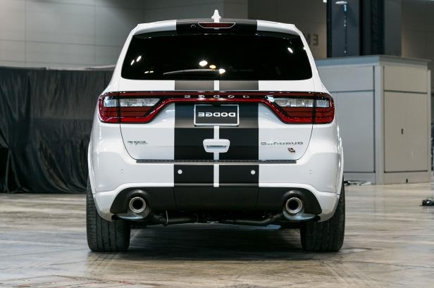 Slide 18 of 70: 2018-Dodge-Durango-SRT-rear-view.jpg