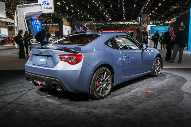 Slide 56 of 70: 2018-Subaru-BRZ-50th-Anniversary-Edition-rear-three-quarter.jpg