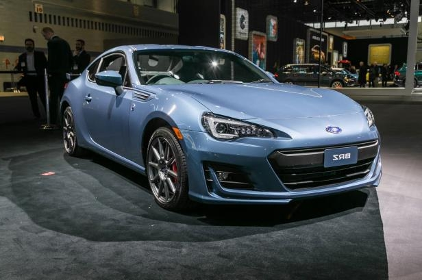 Slide 57 of 70: 2018-Subaru-BRZ-50th-Anniversary-Edition-front-three-quarter.jpg