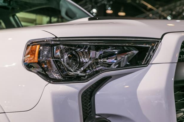 Slide 7 of 70: 2019-Toyota-4Runner-TRD-Pro-headlight.jpg