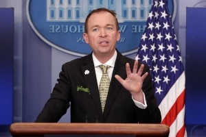 Talk centers on Mick Mulvaney if John Kelly leaves