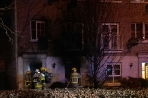 One hospitalised following large overnight blaze in Mulhuddart home