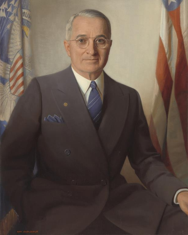 Slide 33 of 44: Harry S. Truman by Jay Wesley Jacobs.
