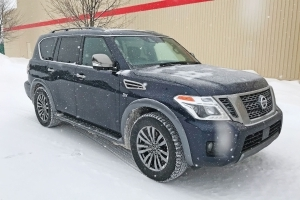 2018 Nissan Armada: Big is the Word of the Day